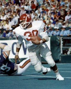 Greg Pruitt became the first true star in the Oklahoma wishbone backfield