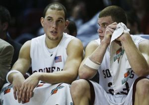 Blake Griffin got to realize one dream when he was reunited with brother Taylor at OU