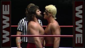 Dr. Death facing off with Sting in his WWE days