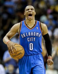 Westbrook sees himself as the Alpha Dog, although he is still hobbling