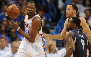 The Memphis defense of Tony Allen and Tayshaun Prince has stifled Durant