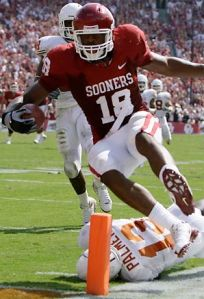 Gresham eventually cast his lot with the Sooners and became a star