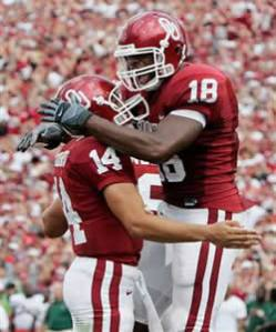 Gresham quickly became a favorite target for OU Heisman Trophy winner Sam Bradford